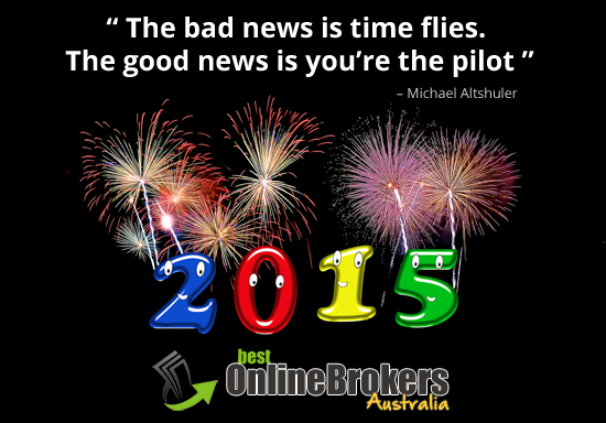 Happy New Year 2015 from Best Online Brokers Australia