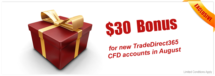 TradeDirect365 Promotion | Signup Bonus
