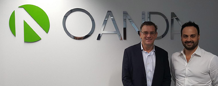 Stuart Young (reviewer from Online Brokers Australia) performs a review of Oanda forex broker with David Villagra (Director of Institutional Sales and Education at Oanda Australia) in February 2018